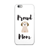 Proud Shih Tzu Mom iPhone Case