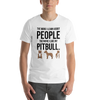 The More I Like My Pitbull Men's T-Shirt White XS