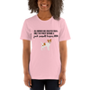 All Women Created Equal Jack Russel Terrier T-Shirt Pink S