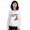 All Women Created Equal Lab Sweatshirt White S