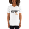 All Women Created Equal Pug T-Shirt White XS