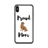 Proud Lab Mom iPhone Case