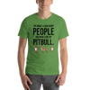 The More I Like My Pitbull Men's T-Shirt Leaf S
