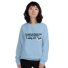 All Women Created Equal Husky Sweatshirt Light Blue S