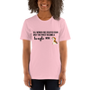 All Women Created Equal Beagle T-Shirt Pink S