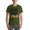 The More I Like My Retriever Men's T-Shirt Olive S