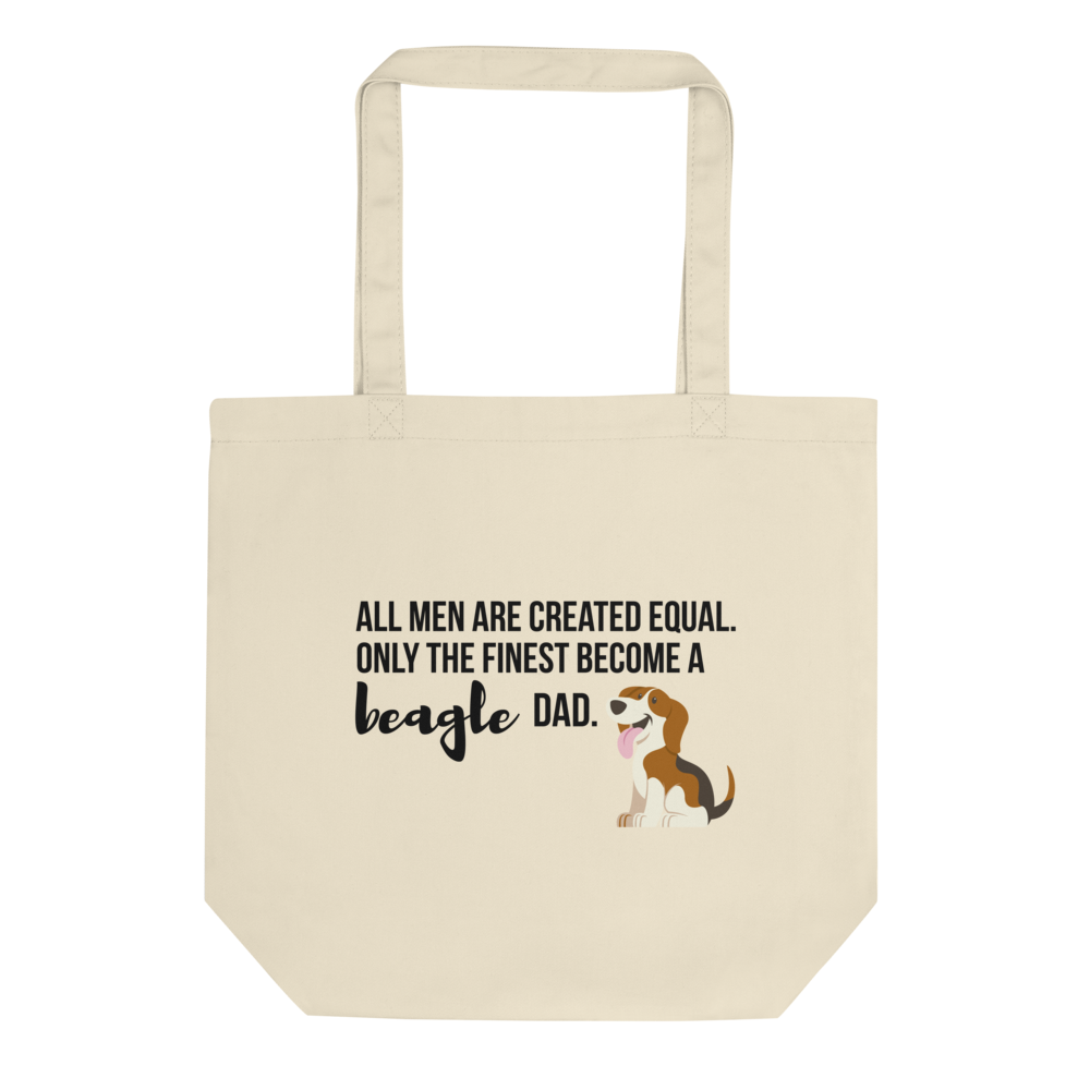 All Men Created Equal Beagle Tote Bag