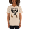 The More I Like My Lab Women's T-Shirt Heather Dust S
