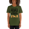The More I Like My Retriever Women's T-Shirt Olive S
