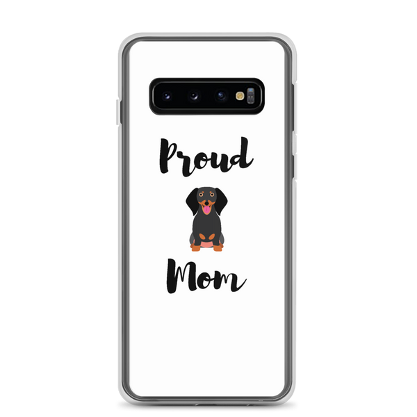 Proud Dachshund Mom Samsung Case Samsung Galaxy S10