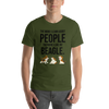 The More I Like My Beagle Men's T-Shirt Olive S