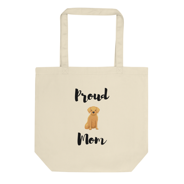 Proud Retriever Mom Tote Bag