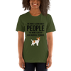 The More I Like My Jack Russel Terrier Women's T-Shirt Olive S