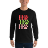 """Ho Ho Ho"" Unisex Long Sleeve Shirt Black S"