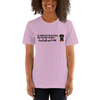 All Women Created Equal Dachshund T-Shirt Heather Prism Lilac XS