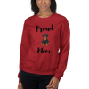 Proud Rottweiler Mom Sweatshirt Red S