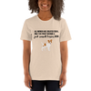 All Women Created Equal Jack Russel Terrier T-Shirt Heather Dust S