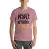 The More I Like My Retriever Men's T-Shirt Heather Orchid S