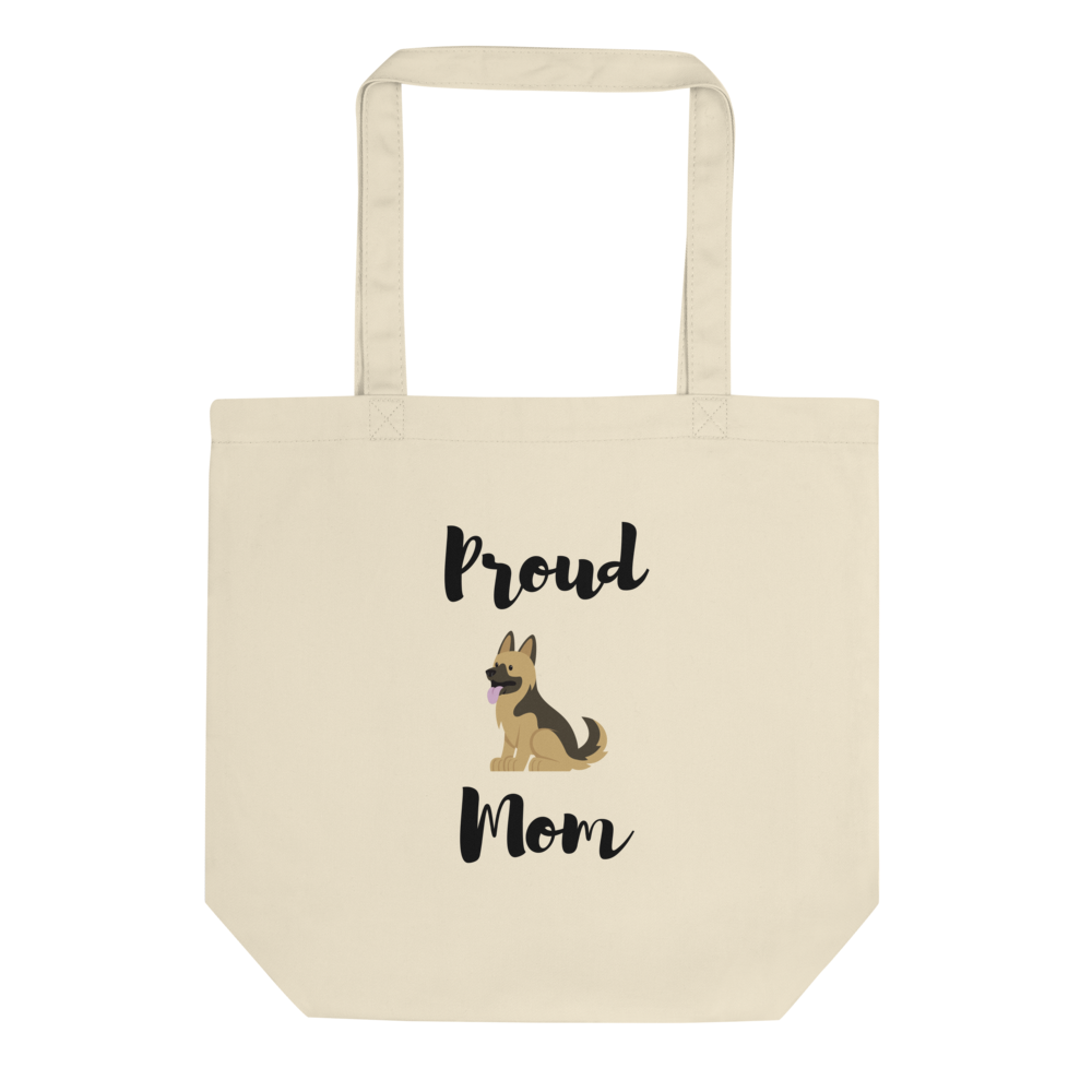 Proud Shepherd Mom Tote Bag