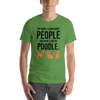 The More I Like My Poodle Men's T-Shirt Leaf S