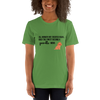 All Women Created Equal Poodle T-Shirt Leaf S