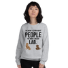 The More I Like My Lab Women's Sweatshirt Sport Grey S