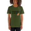 All Women Created Equal Poodle T-Shirt Olive S