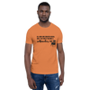 All Men Created Equal Rottweiler T-Shirt Burnt Orange XS