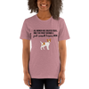 All Women Created Equal Jack Russel Terrier T-Shirt Heather Orchid S