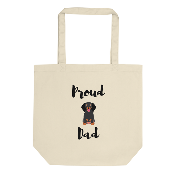 Proud Dachshund Dad Tote Bag