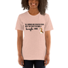 All Women Created Equal Beagle T-Shirt Heather Prism Peach XS