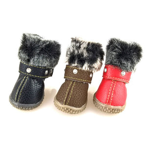 Water Proof Boots with Rhinestones for Dogs