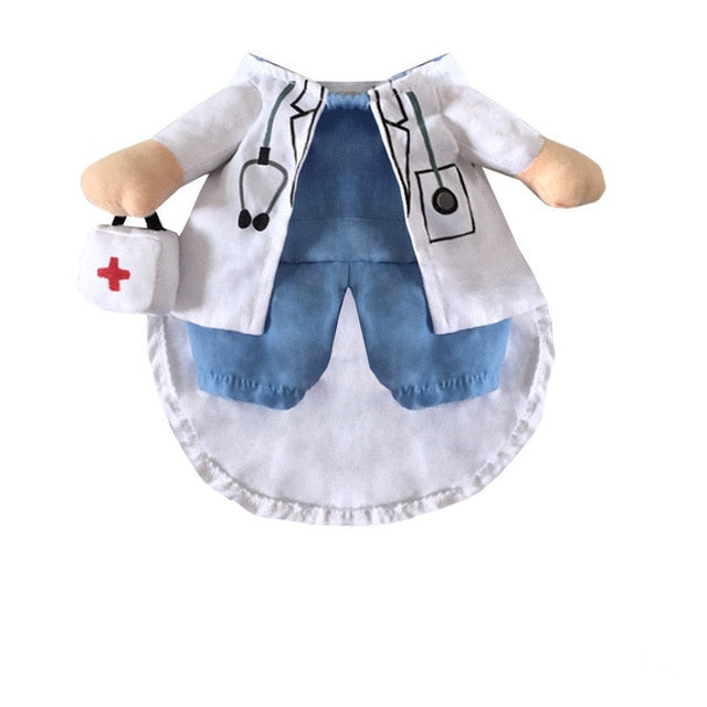 Doctor or Nurse Dog Halloween Costume Doctor M