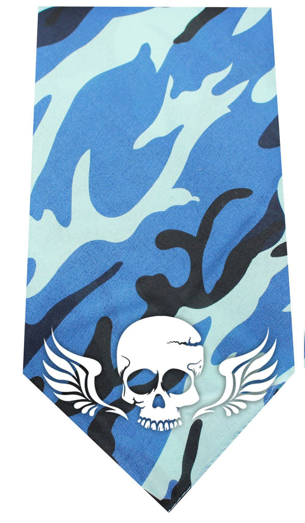 Skull Wings Screen Print Bandana