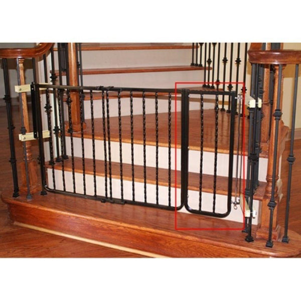 Wrought Iron Decor Gate Extension Bronze