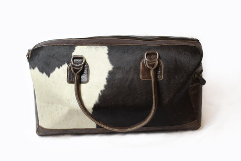 Cowhide Weekend Bag Hisn