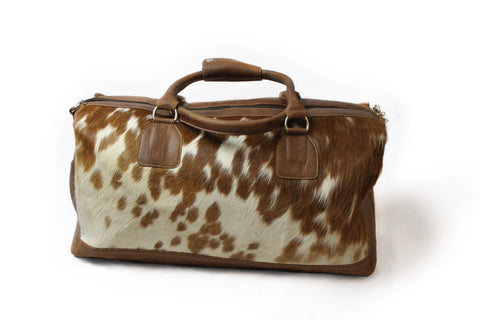 Cowhide Weekend Bag Lizzy