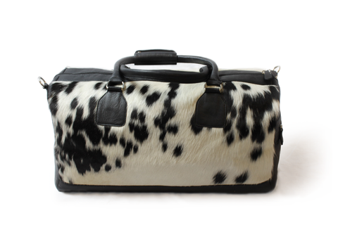 Cowhide Weekend Bag Elko