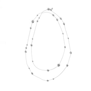 18K Armillas Acqua White Gold Necklace with Diamonds