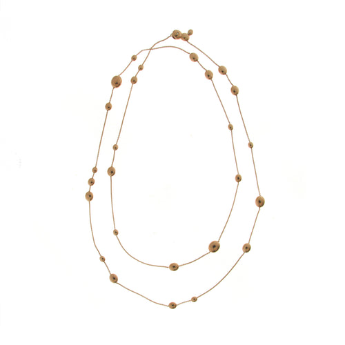 18K Armillas Acqua Rose Gold Necklace