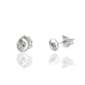 18K Armillas Acqua White Gold Small Stud Earrings