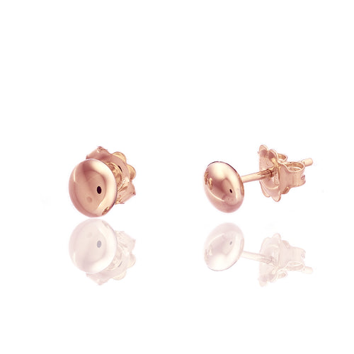 18K Armillas Acqua Rose Gold Small Stud Earrings