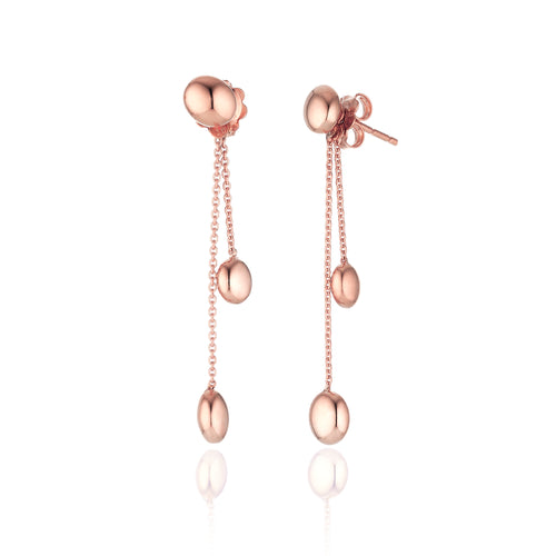 18K Armillas Acqua Rose Gold Earrings