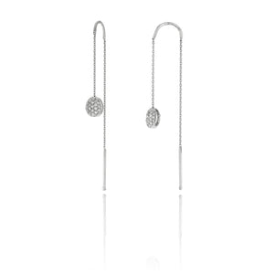 18K Armillas Acqua White Gold Earrings with Diamonds