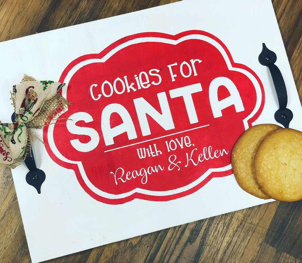 'Hammer At Home' Cookies for Santa Tray