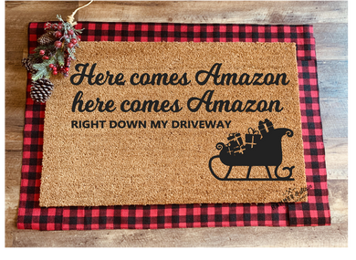 'Made-to-Order' Holiday Doormats