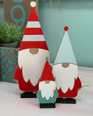 'Hammer at Home' Gnome Trio Kit