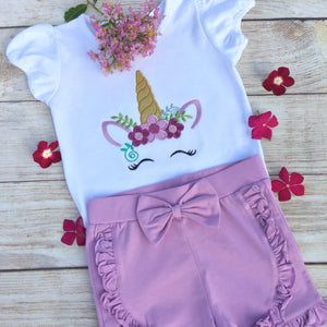 Baby Girl Sleepers With Ruffles