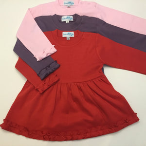 Girls Bubble Long Sleeve Shirt - Little Blanks