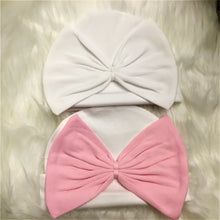 Big Bow Beanie Hats - Little Blanks